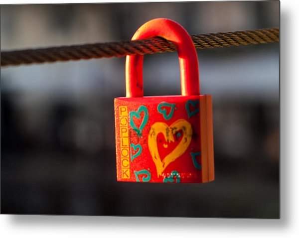 Sealed Love Metal Print
