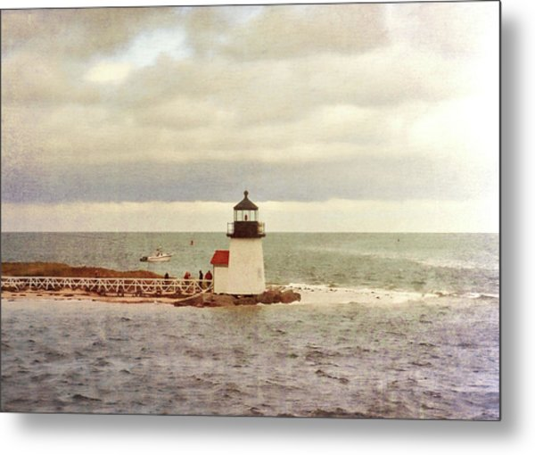 Seamans Light Metal Print by JAMART Photography