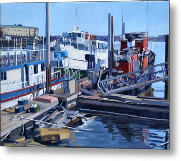 Seaport Ave Metal Print