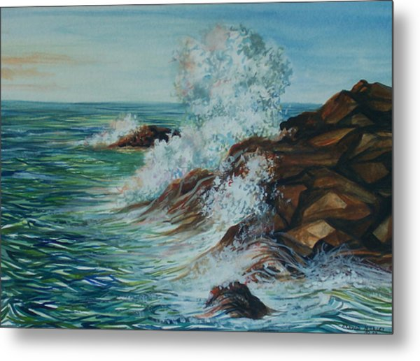 Seascape 1 Metal Print by Arnold Hurley
