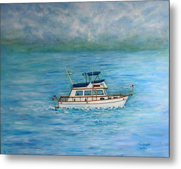Seascape Metal Print