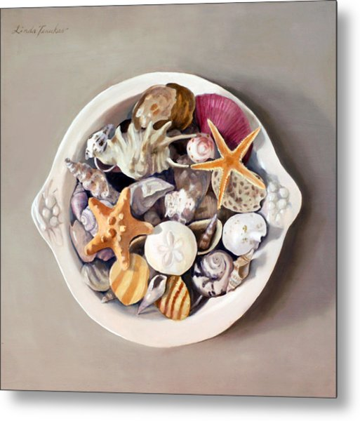 Seashells Metal Print