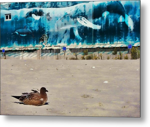 Seaside Art Gallery Metal Print by JAMART Photography
