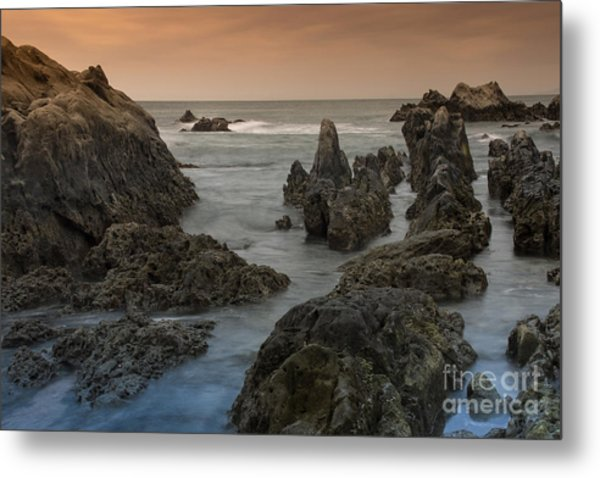 Seaside In My Memory Metal Print by Tad Kanazaki