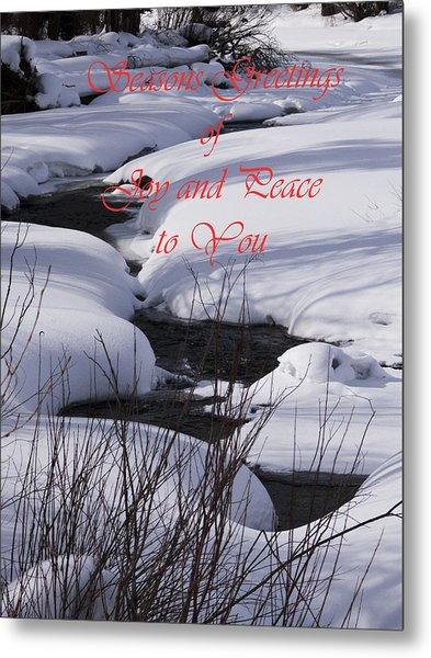 Seasons Of Joy And Peace Metal Print