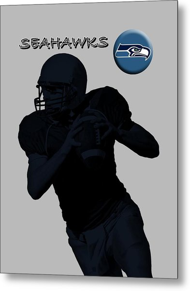Seattle Seahawks Football Metal Print