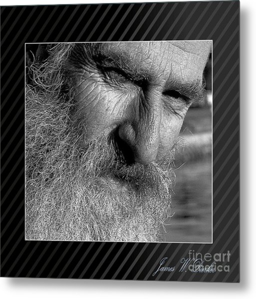 Seaward Bound Metal Print