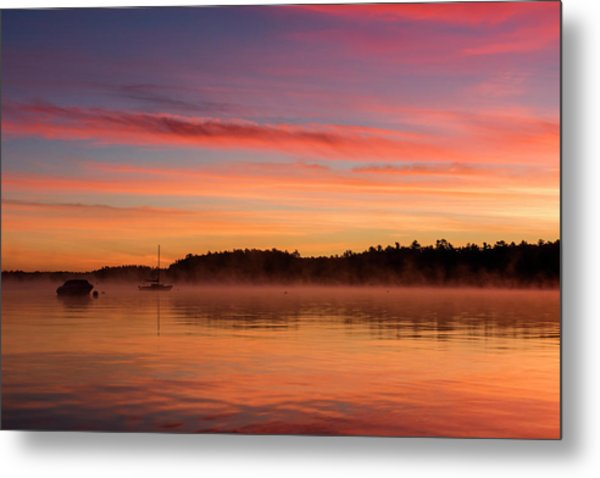 Sebago Sunrise Metal Print