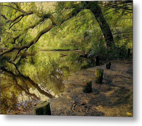 Secluded Sanctuary Metal Print