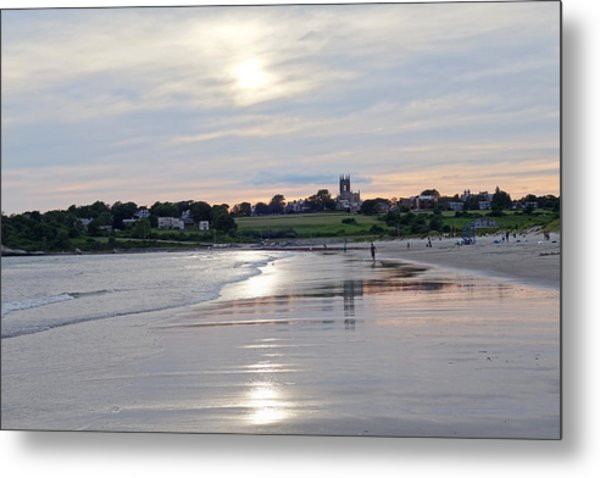Second Beach Newport Ri Metal Print