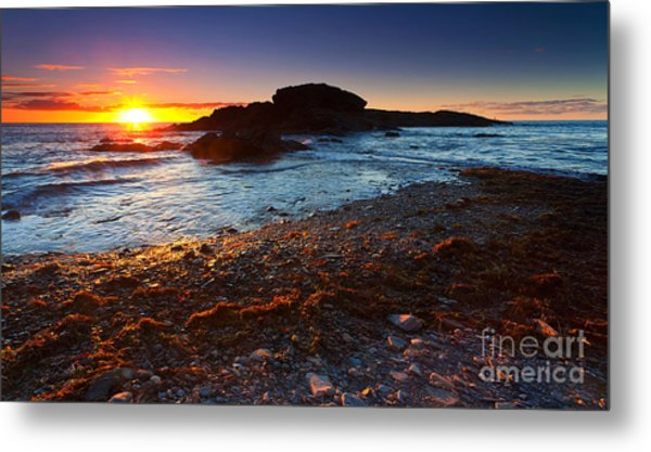 Second Valley Sunset Metal Print