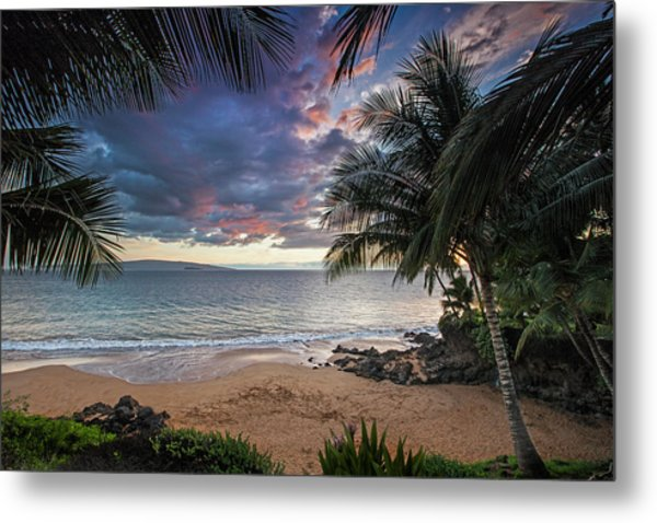 Secret Cove Metal Print