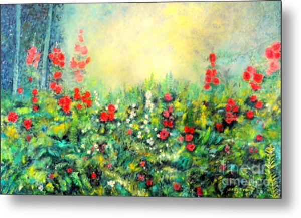 Secret Garden 2 - 150x90 Cm Metal Print
