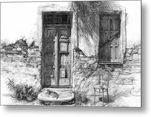 Secret Of The Closed Doors Metal Print