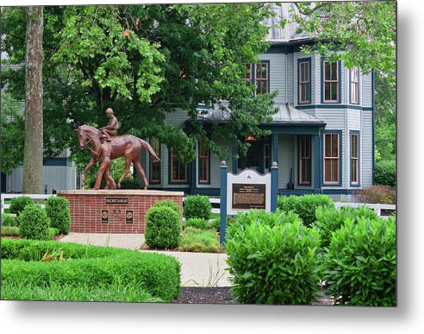 Secretariat Statue At The Kentucky Horse Park Metal Print