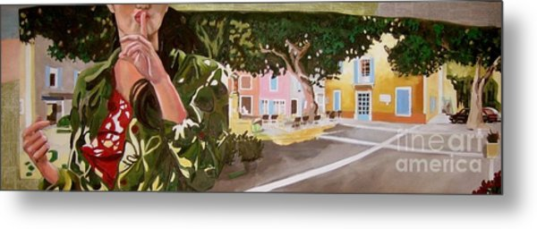 Secrets Du Village Metal Print