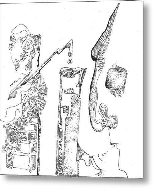 Secrets Of The Engineers Metal Print
