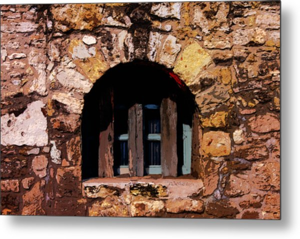 Secured--the Alamo Metal Print
