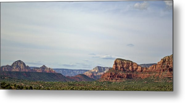Sedona Arizona Panorama I Metal Print