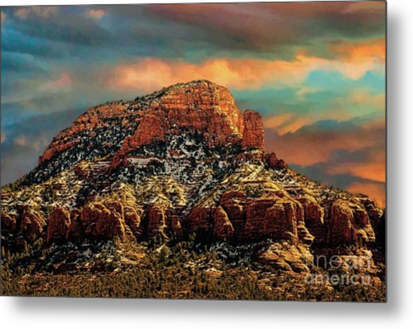 Sedona Dawn Metal Print