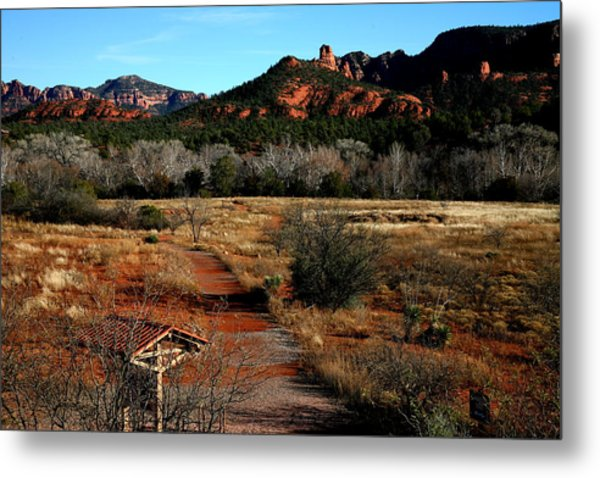Sedona Metal Print by Jennilyn Benedicto