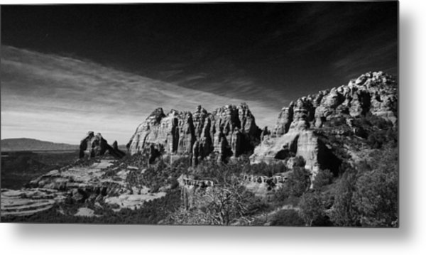 Sedona Reversed Metal Print
