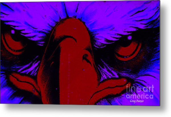 See Red Metal Print by Greg Patzer