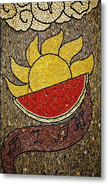 Seed Art Metal Print
