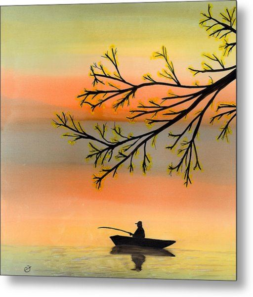 Seeking Solitude Metal Print