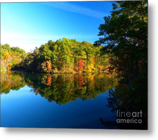 Seen From Kidds Schoolhouse Metal Print