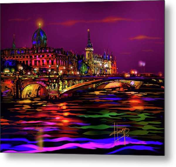 Seine, Paris Metal Print