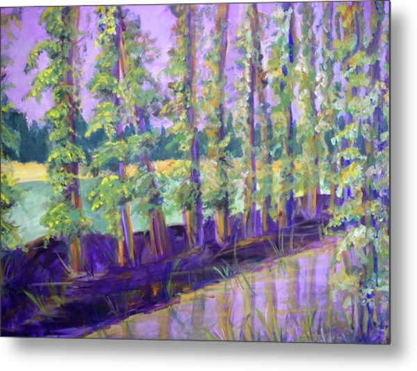 Seine River Metal Print by Made by Marley