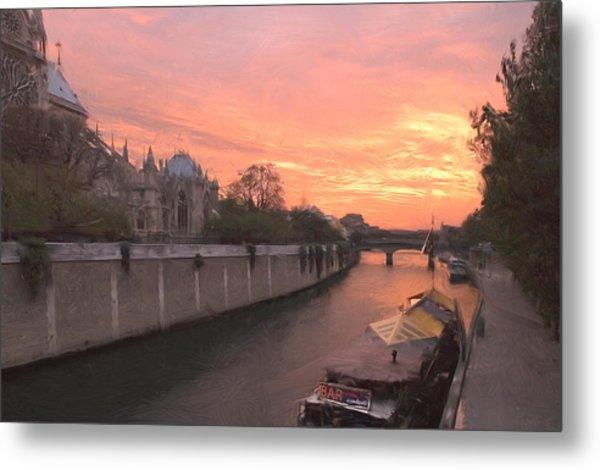 Seine River Metal Print