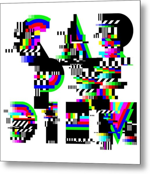 Metal Print featuring the digital art Seize The Day by Bee-Bee Deigner