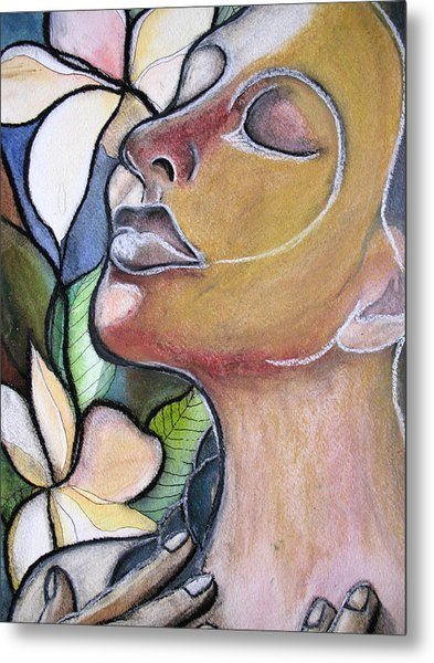 Self-healing Metal Print by Kimberly Kirk