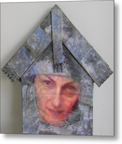 Self-portrait In A Russian House Metal Print