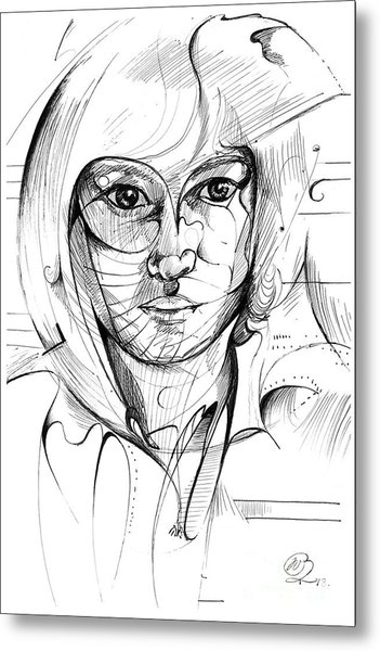 Self Portrait Metal Print