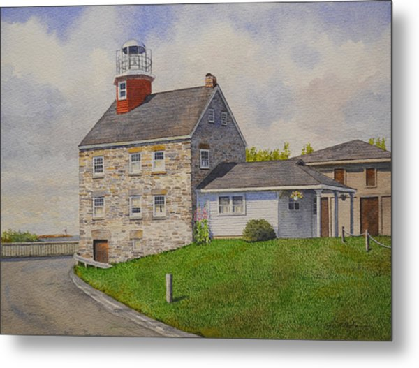Selkirk Lighthouse Metal Print