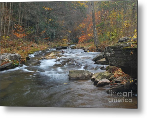 Seneca Creek Autumn Metal Print