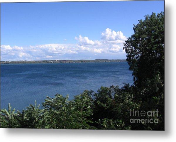 Seneca Lake Finger Lakes New York Metal Print