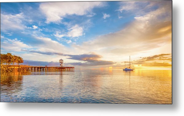Sensual Sunrise Metal Print