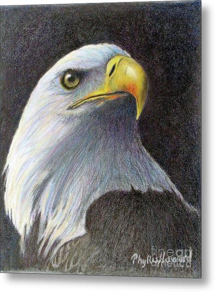 Metal Print featuring the painting Sentinel by Phyllis Howard
