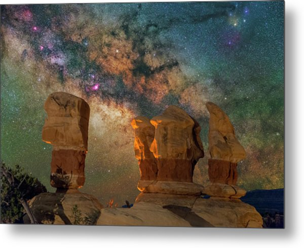 Sentinels Of The Night Metal Print