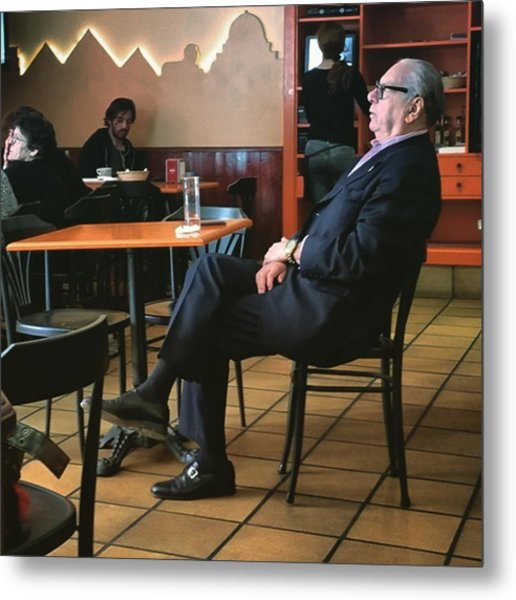 Señor #bar #portrait  #man Metal Print