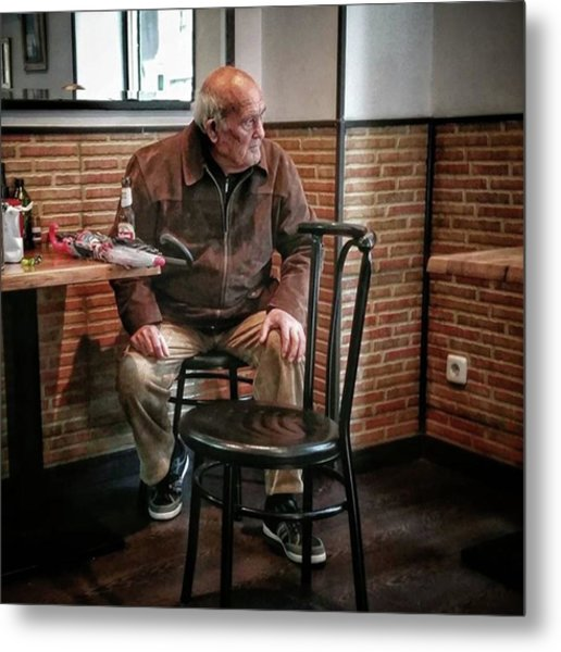 Señor #bar #portrait Metal Print