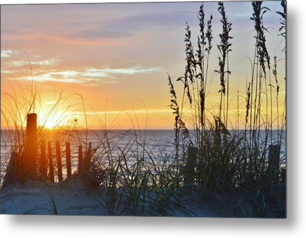 September 27th Obx Sunrise Metal Print