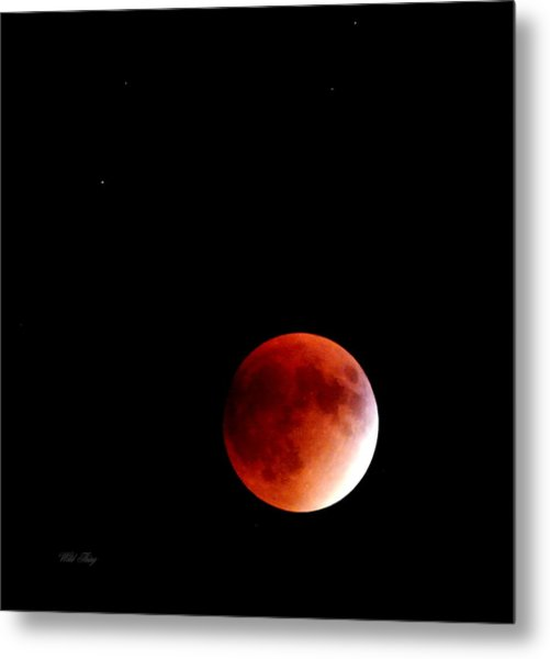 September Bloodmoon 2015 Metal Print
