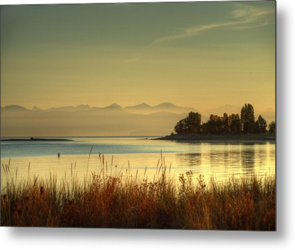 September Morn Metal Print