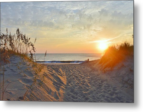 September Sunrise Metal Print