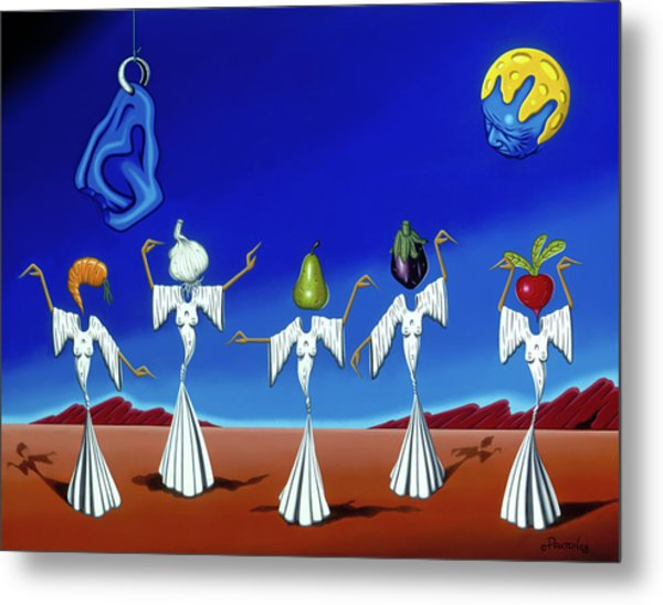 Serenade Of The Sisters Metal Print